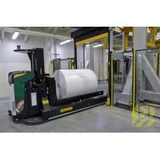 Участие роботов Rocla AGVs на складе