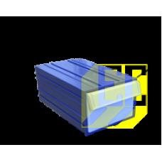 Пластиковый короб С-2 синий