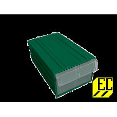 Пластиковый короб С-2 зеленый