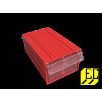 Пластиковый короб С-2 красный