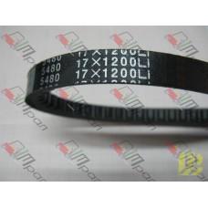 20801-04051 (5480 17*1200) Ремень вентилятора клиновой