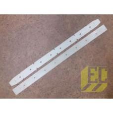 Маслостойкие полиуретановые лезвия Gansow CT 40 - 50 05800+05802MPVR 05800+05802MPVR