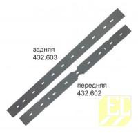 Резина для параболического сквиджа Cleanfix RA 431, RA 501 (комплект 432.602+432.603) 432.552 432.552