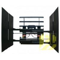 Захваты для упакованных э/приборов и картона – с тройными шарнирно сочлененными зажимами